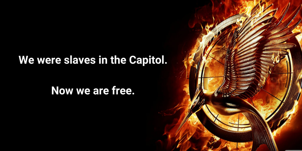 We were slaves in the Capitol. Now we are free.